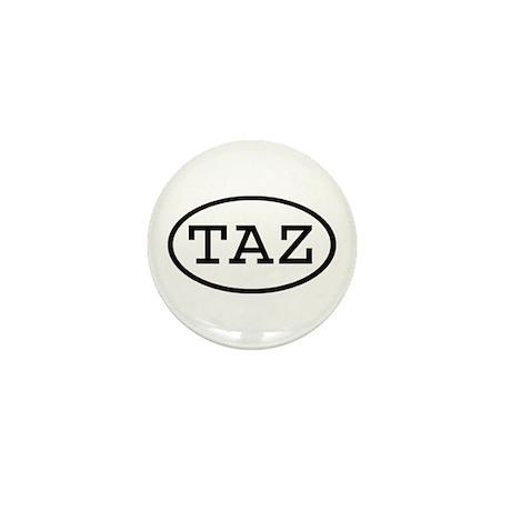 TAZ Oval Mini Button (10 pack)
