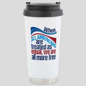 Equality in America Stainless Steel Travel Mug
