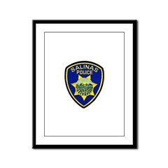 Salinas Police Framed Panel Print