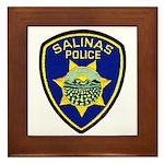 Salinas Police Framed Tile