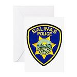 Salinas Police Greeting Card