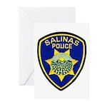 Salinas Police Greeting Cards (Pk of 10)