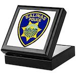 Salinas Police Keepsake Box