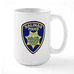 Salinas Police Large Mug