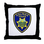 Salinas Police Throw Pillow