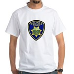 Salinas Police White T-Shirt