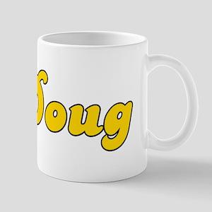 Retro Doug (Gold) Mug