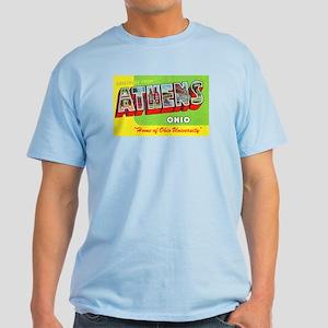 Athens Ohio Greetings Light T-Shirt