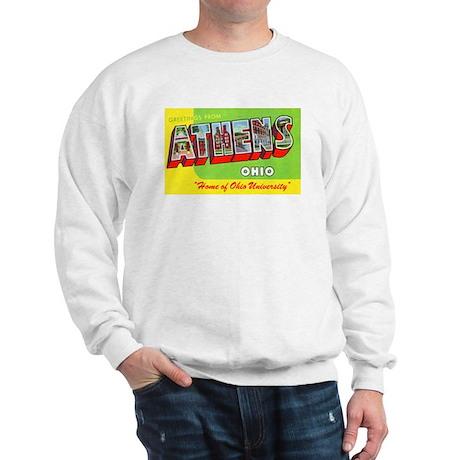 Athens Ohio Greetings (Front) Sweatshirt