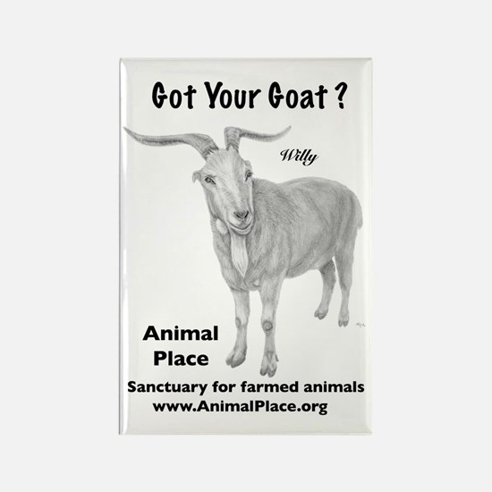Goat Your Goat? Rectangle Magnet