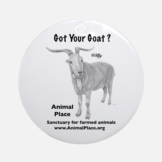 Goat Your Goat? Ornament (Round)