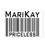 MariKay Priceless Bar Code Postcards (Package of 8