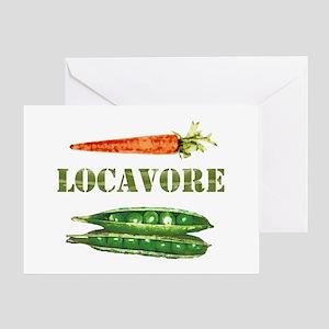 Locavore 2 Greeting Card