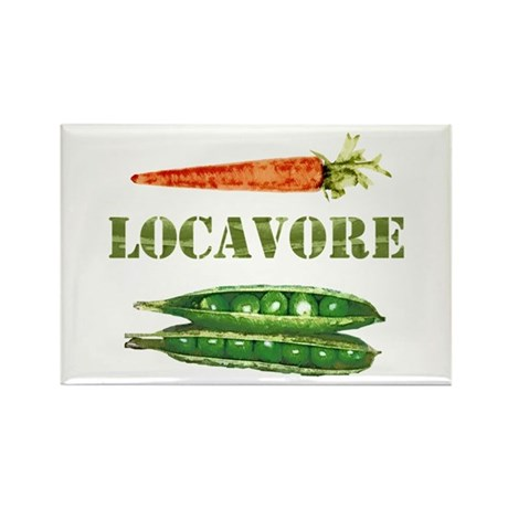 Locavore 2 Rectangle Magnet (100 pack)