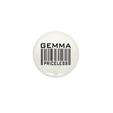 Gemma First Name Priceless Mini Button (100 pack)