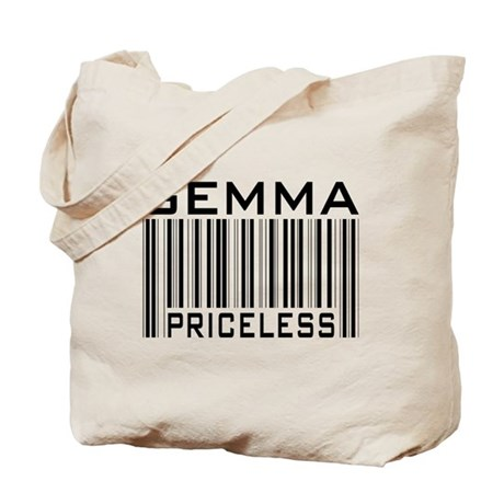 Gemma First Name Priceless Tote Bag