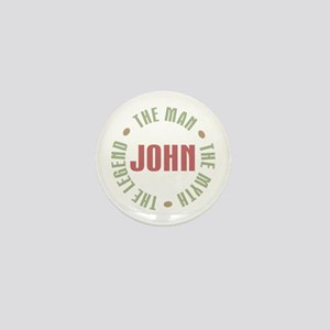 John Man Myth Legend Mini Button