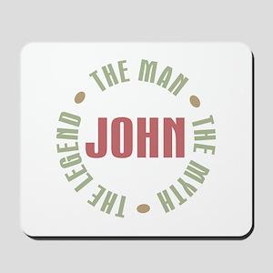 John Man Myth Legend Mousepad