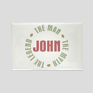 John Man Myth Legend Rectangle Magnet