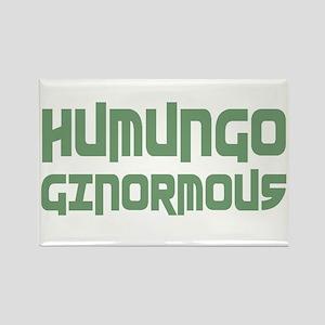 Humungo Ginormous BIG Rectangle Magnet