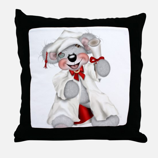 GRADUATION 3 Throw Pillow