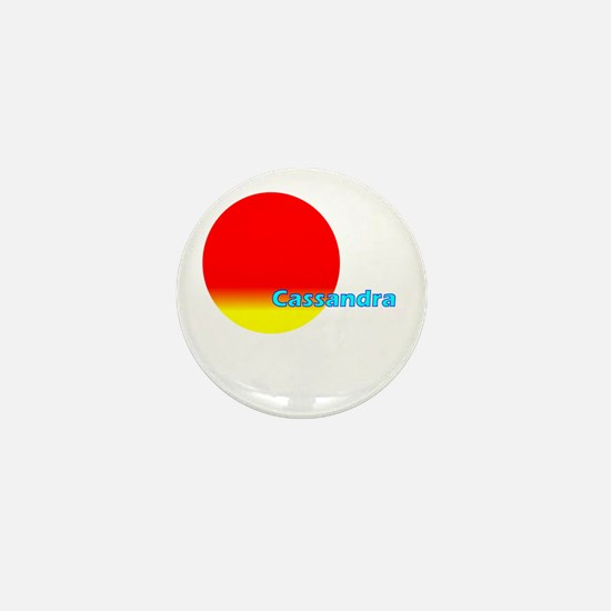 Cassandra Mini Button