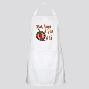 Hot N Spicy 65th BBQ Apron