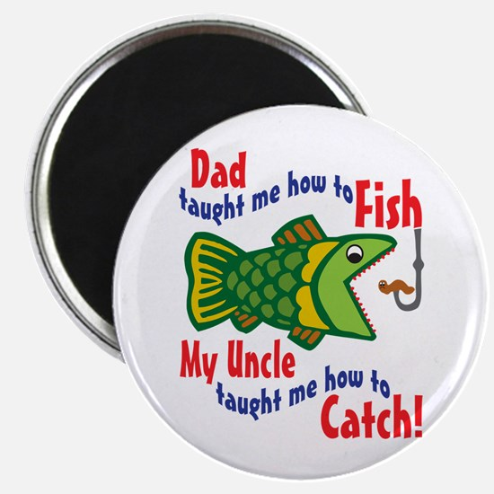 Dad Uncle Fish Magnet