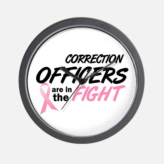Correction Officers In The Fight Wall Clock