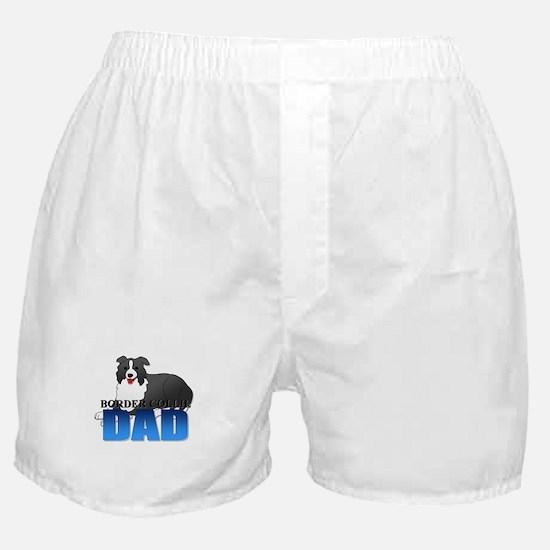 Border Collie Dad Boxer Shorts