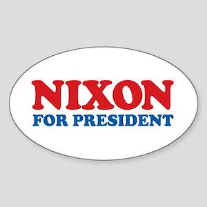 Nixon Oval Sticker