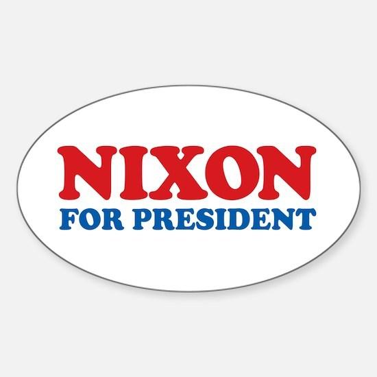 Nixon Oval Decal