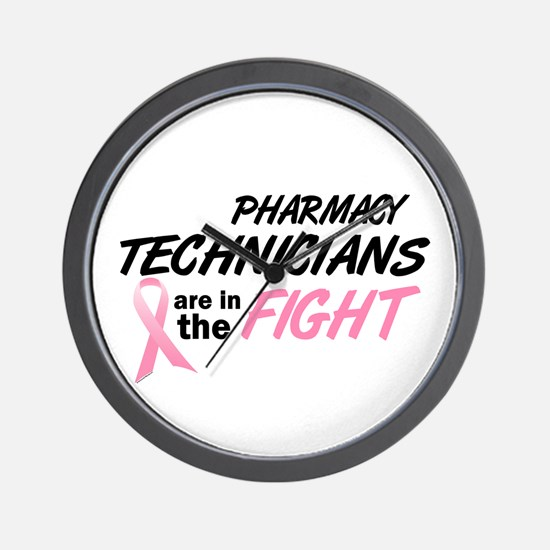 Pharmacy Technicians In The Fight Wall Clock