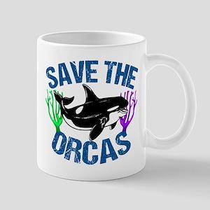 Save the Orcas Mug