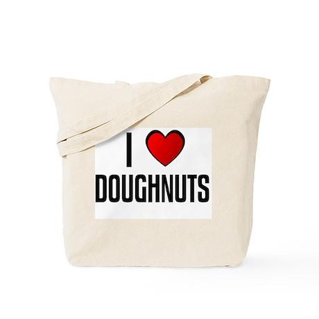 I LOVE DOUGHNUTS Tote Bag