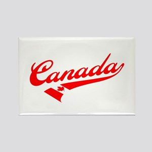 Oh Canada Rectangle Magnet