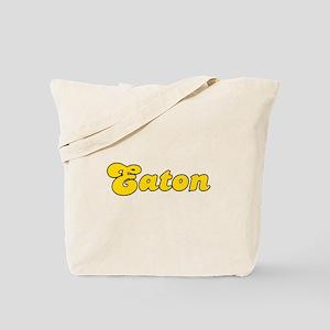 Retro Eaton (Gold) Tote Bag