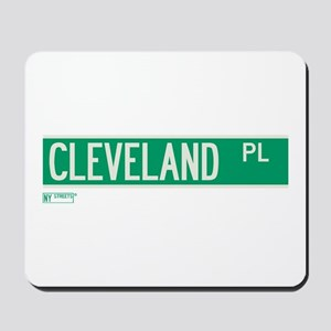 Cleveland Place in NY Mousepad