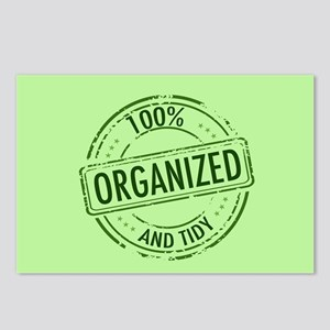 Funny Organized Postcards (Package of 8)