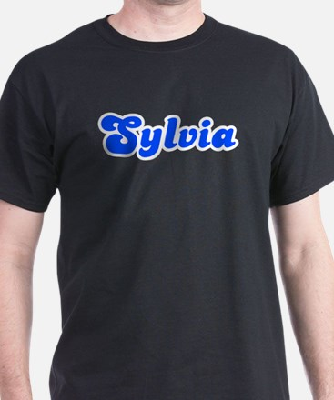 Retro Sylvia (Blue) T-Shirt