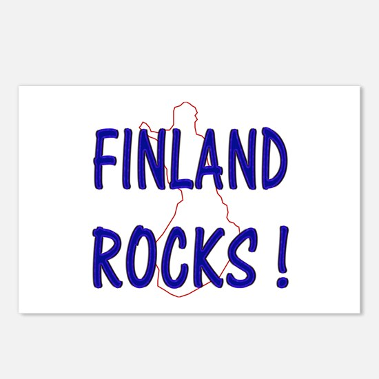 Finland Rocks ! Postcards (Package of 8)