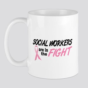 Social Workers In The Fight Mug