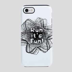 Run It's Fun iPhone 8/7 Tough Case