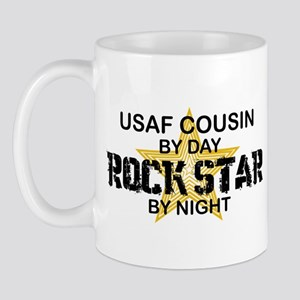 USAF Cousin Rock Star by Night Mug