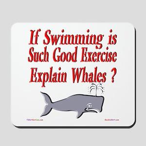 Explain Whales ? Mousepad