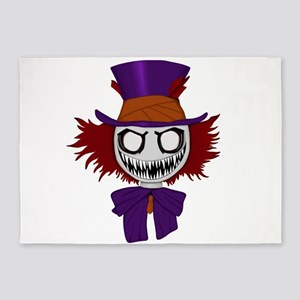 Really Mad Hatter 5'x7'Area Rug