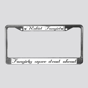 Fangirly Squee License Plate Frame