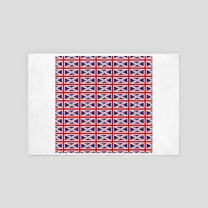 Great Britain England Union Jack Flag 4' x 6' Rug