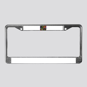 Woven Colors License Plate Frame