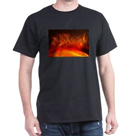 Spiky flames in the fire T-Shirt